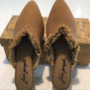 FREE PEOPLE Leather Shoes Size 38 (8) NWT's!